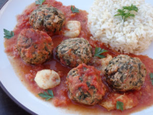 Pulpety zapiekane w sosie pomidorowym i mozzarellą image2 2