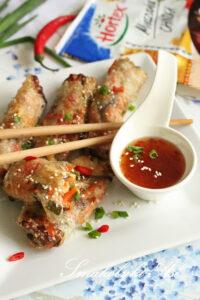 Sajgonki z kurczakiem i warzywami image2 2