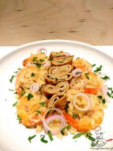 Smażony ryż z kalafiora z krewetkami image1 2