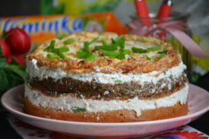 Tort warzywny Hortex z twarogiem image14 5