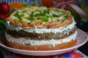 Tort warzywny Hortex z twarogiem image2 1