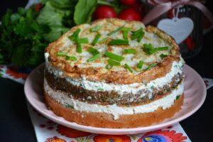 Tort warzywny Hortex z twarogiem image3 2