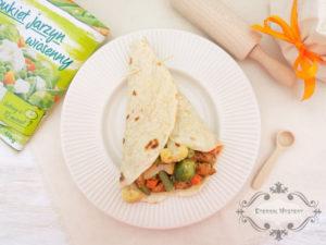 Tortilla z warzywami i kurczakiem image1 1