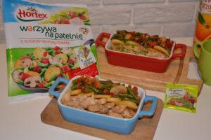 Warzywa na patelnię Hortex w towarzystwie piersi z kurczaka image1 1