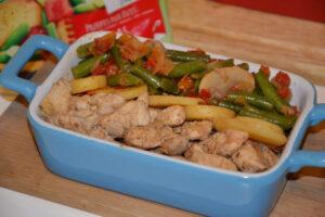 Warzywa na patelnię Hortex w towarzystwie piersi z kurczaka image2 2