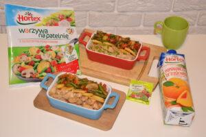 Warzywa na patelnię Hortex w towarzystwie piersi z kurczaka image3 3