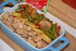 Warzywa na patelnię Hortex w towarzystwie piersi z kurczaka image4 4