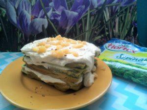 Zielone gofry z ricottą i białą czekoladą image1 1