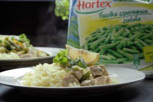 Zielone zółte curry z ryżem szafranowym image4 4