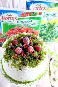 Zielony tort z owocami lata image6 6