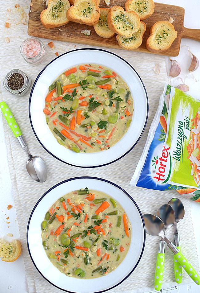 Błyskawiczna zupa minestrone