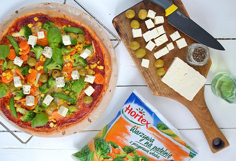 Lekka pizza z warzywami