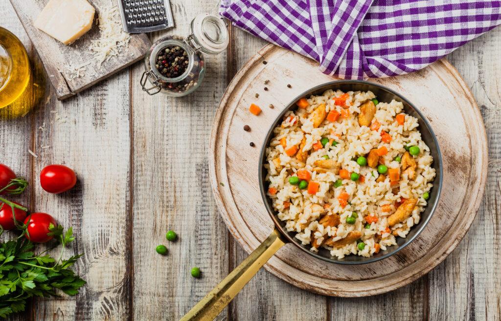 Jak przyrządzić risotto z warzywami?