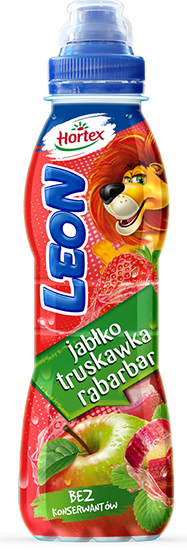 LEON JABŁKO TRUSKAWKA RABARBAR 400ml