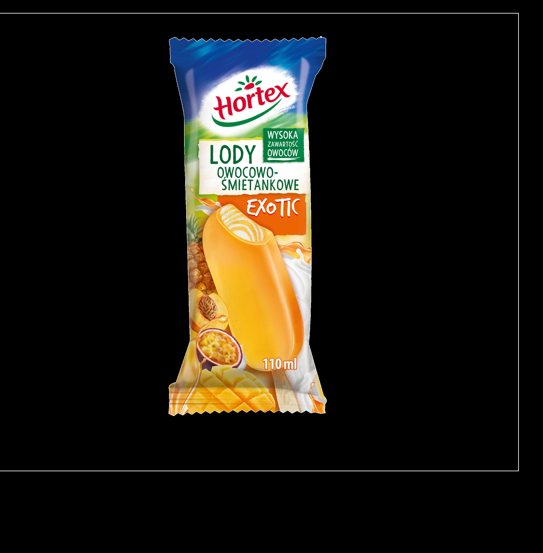 Lody śmietankowo-owocowe