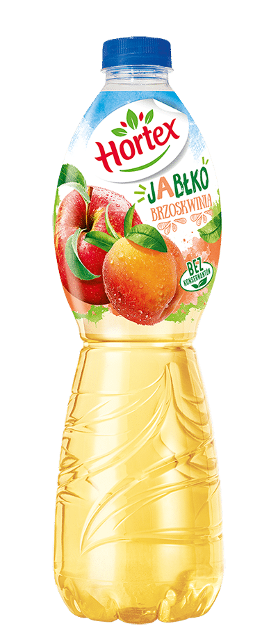 Apple-Peach drink 1,75l Pet Bottle