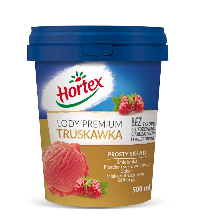 Lody Premium truskawka 0,5l