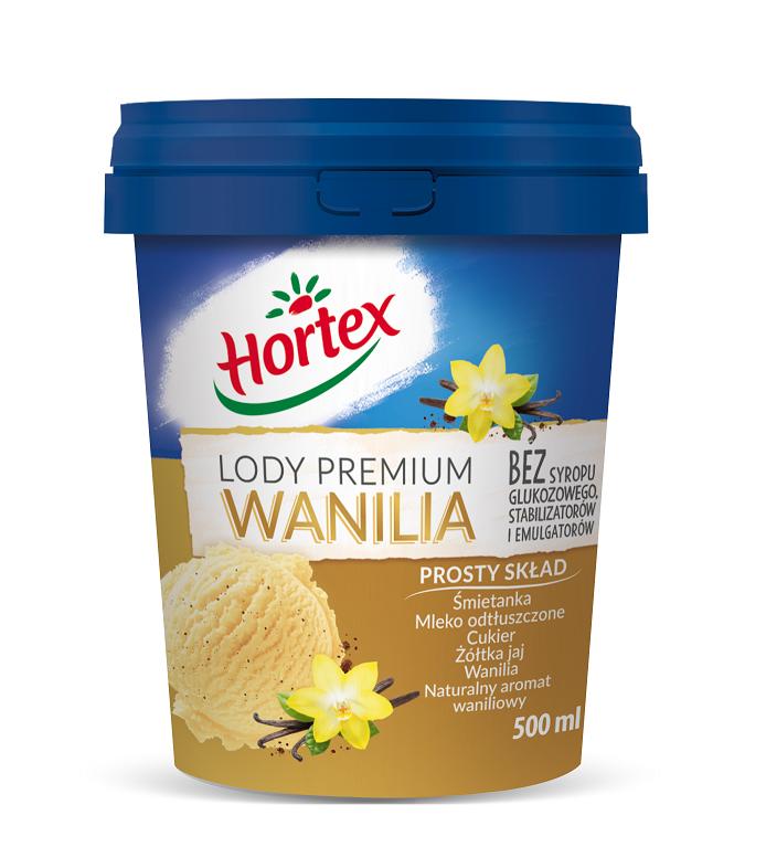 Lody Premium wanilia 0,5l