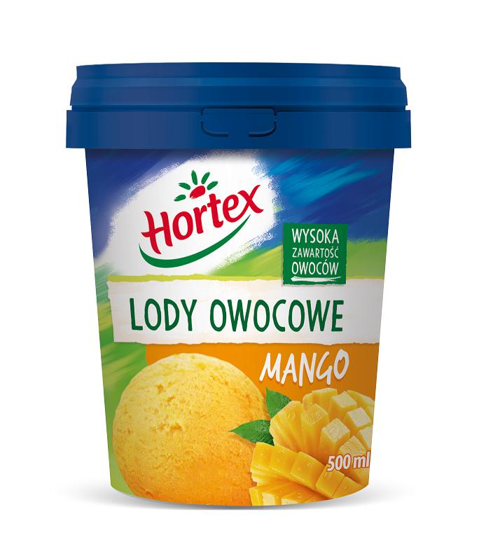 Lody sorbet mango 0,5l