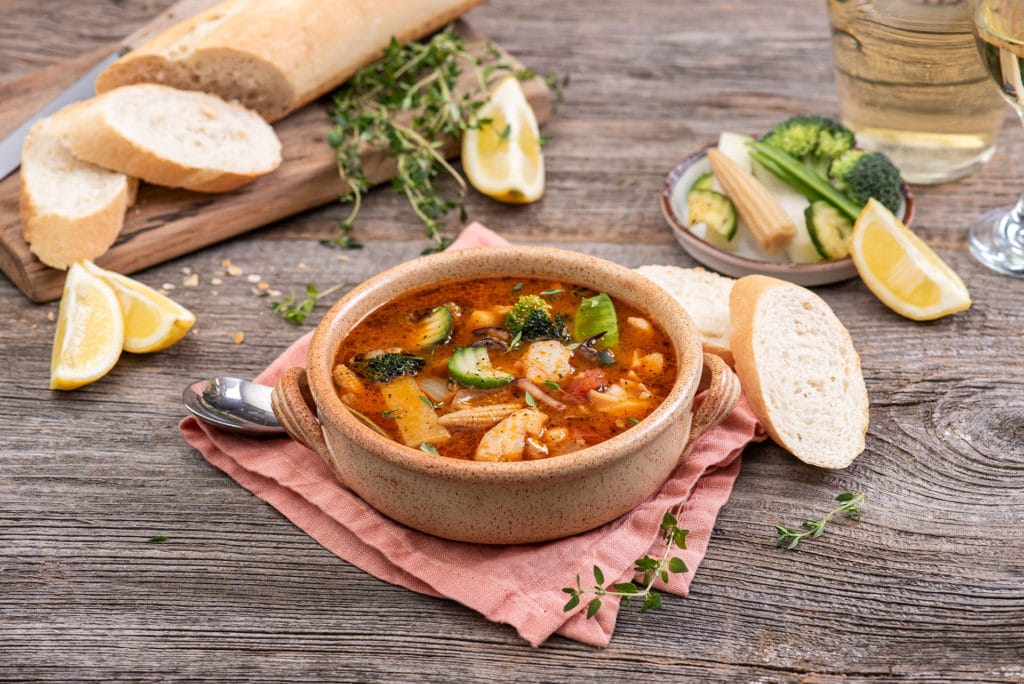 Francuska zupa rybna