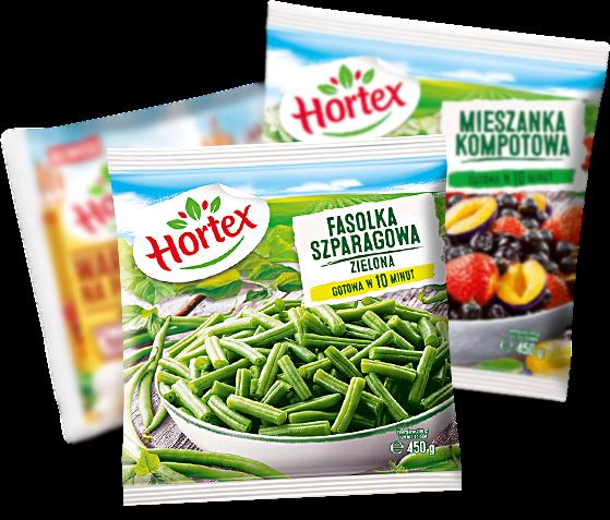 Mrożone warzywa i owoce