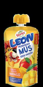Apple, Banana, Mango mousse Pouch 100g