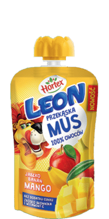 apple banana mango mousse pouch 100g 1
