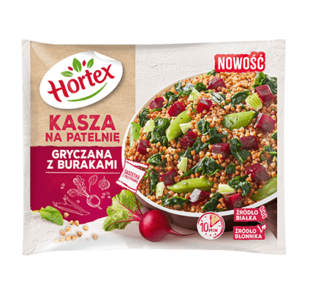 Hortex KASZA Gryczana na patelnię z burakami