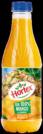 Mango Anans sok 100 butelka aPet 1L 1