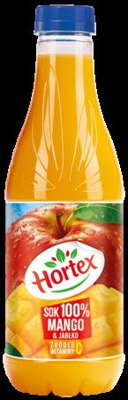 Mango Jablko sok 100  butelka aPet 1L 1