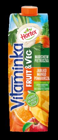 Vitaminka FruitsVeg Pietruszka Mango Karton 1L 1