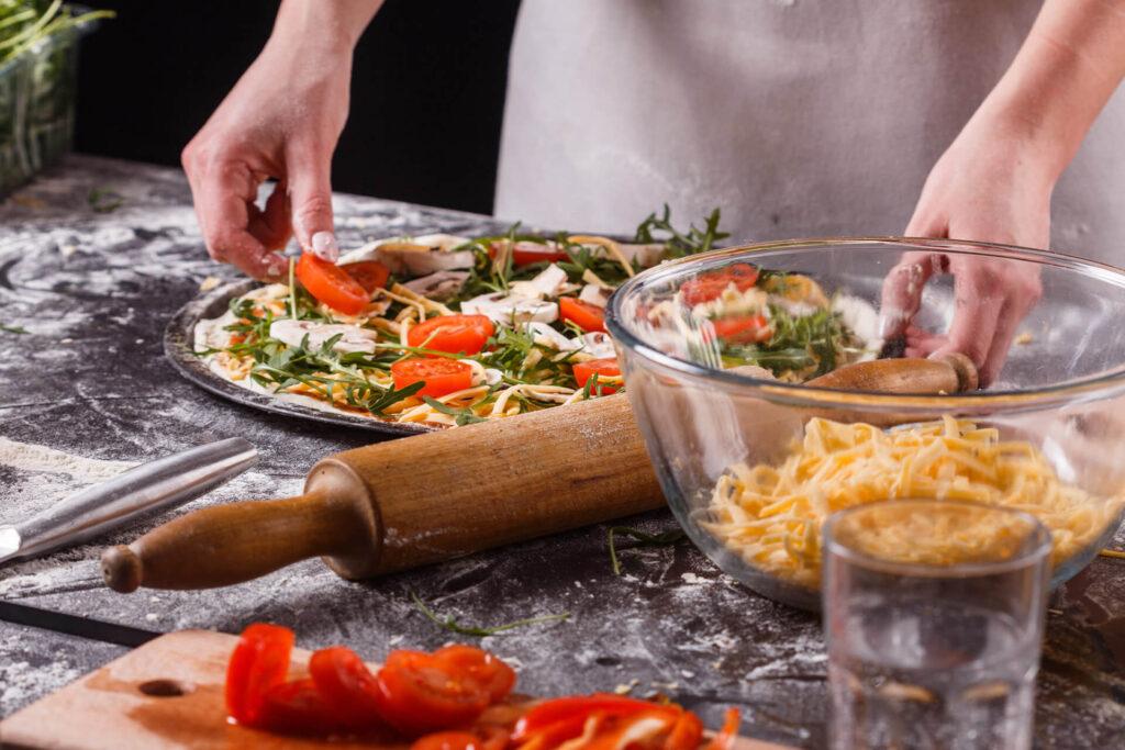 przepis na pizzę wegetariańską