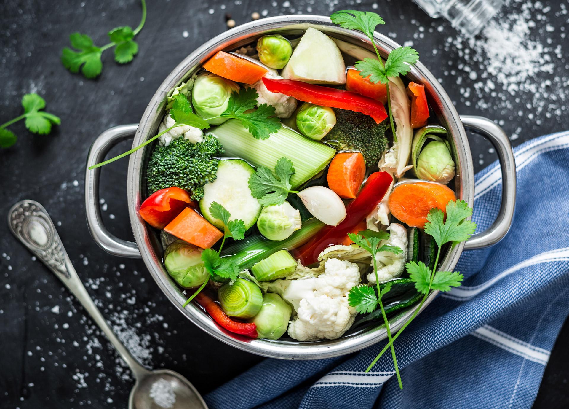 Jak zmienić bulion warzywny wciekawą zupę?