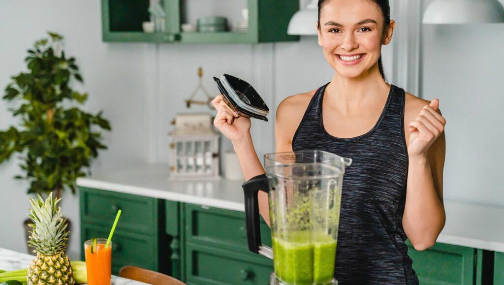odchudzający koktajl warzywny - przykładowy przepis