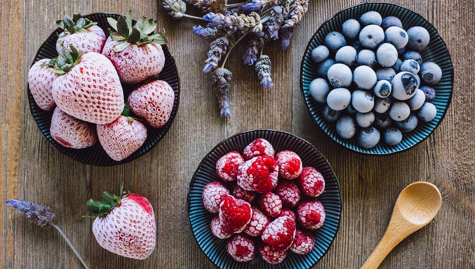 Mrożone owoce – co zrobić, żeby zachowały ładny wygląd?