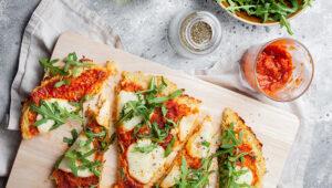 Pizza zkalafiora