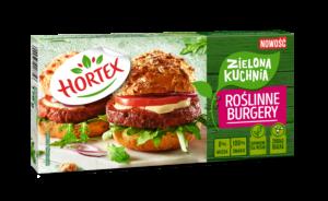 Roślinne burgery sojowe