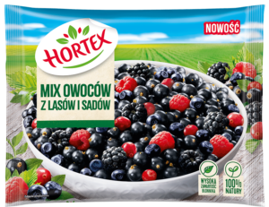 Mix owoców zlasów isadów