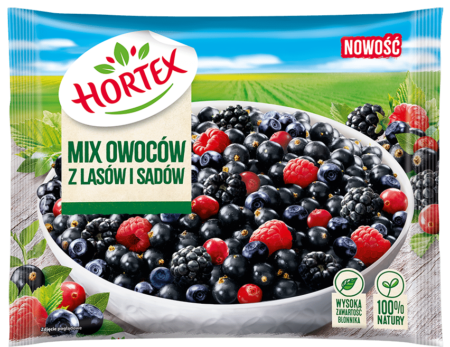 Mix owoców z lasów i sadów