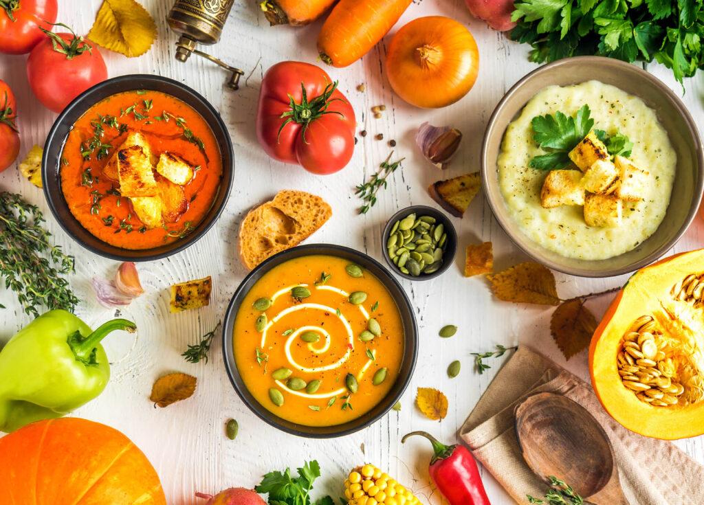 dieta na odporność - zdrowe zupy